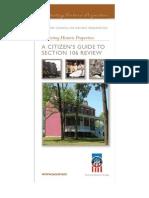 Protecting Historic Properties