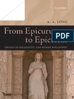 From Epicurus to Epictetus_ Studies in H - A. a. Long