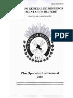 Plan operativo institicional 2008 CGBVP - Parte I
