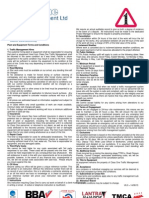 Terms and Conditions Without Box on Letterhead - V6.0 140813