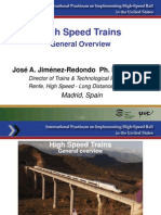 High Speed Trains Overview