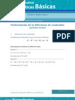 Factorización de la diferencia de cuadrados MBS12_A3_01