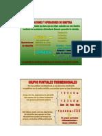 Clasificacion cristalografica