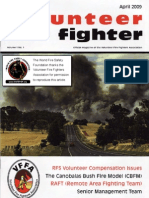 The Volunteer Fire Fighter Magazine - April, 2009