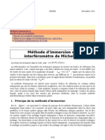 Refractometrie Par Interferometrie