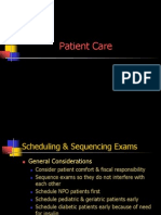 Patient Care Registry for Radiology