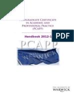 Pcapp Handbook 2012-13
