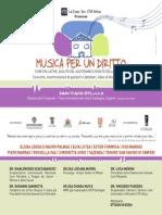 Musica Per Un Diritto - Programma Invito
