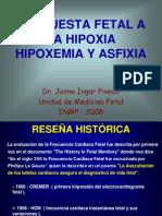 CLASE 2 Respuesta Fetal a La Hipoxia Hipoxemia y Asfixia