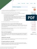 Restoring Factory Hard Drive Capacity
