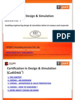 certification program on CAE driven design