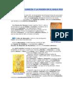 EL MESTER DE CLERECÍA Y LA POESÍA EN EL SIGLO XIII