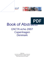 Echo Course Syllabus EACTA