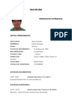 Curriculum Fabian Gallo