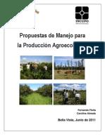 Propuestas Manejo Agroecologico Bella Vista