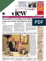 The Belleville View Aug. 29, 2013