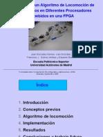 Evaluación de un Algoritmo de Locomoción de Robots Ápodos en Diferentes Procesadores Embebidos en FPGA. Transparencias