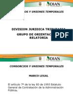 PRESENTACION CONSORCIOS Y UNIONES TEMPORALES CORREGIDA (1).ppt