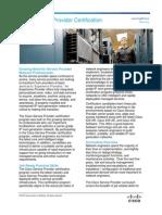 Cisco Service Provider Certification General Guidelines