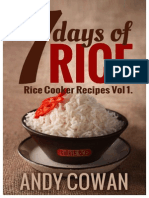 7 Days of Rice - Rice Cooker Recipes