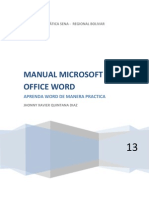 Manual de Microsoft Word