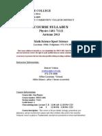 2013+FA-PHYS-1401-71112