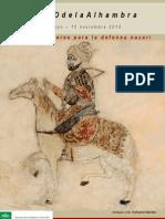 Catálogo Armas y Enseres de La Defensa Nazarí