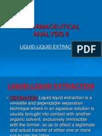 3. Liquid Liquid Extraction