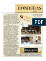 Barnett Honduras Newsletter Ten 7.20.13