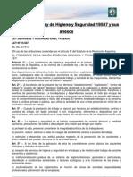 Lectura 15 - Ley de Higiene y Seguridad 19587 y Sus Anexos