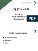 Tuning Java Code