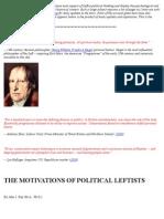 The Motivations of Political Leftists