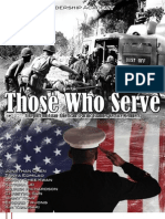 """Those Who Serve"" (CAUSE Leadership Academy 2013 Group Project)"