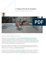 Coursera To Deliver Classes for K-12 Teachers