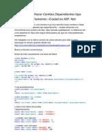 Tutorial-Combos Dependientes ASP-SQL
