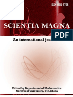 Scientia Magna international journal, Vol. 5 No 1