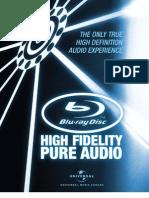 High Fidelity Pure Audio English