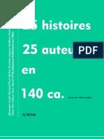 25 Histoires 25 Auteurs