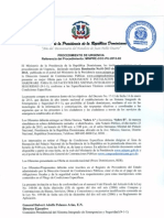 Resolución Procedimiento MINPRE-CCC-PU-2013-02