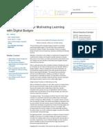 Design Principles for Motivating Learning with Digital Badges
