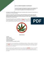 Por qué no se debería legalizar la marihuana