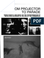 """Serge Daney, """"From Projector to Parade"""""""