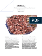 Addendum No. 1 to An Investigation of the Cretaceous Impact of the Beaverhead Asteroid