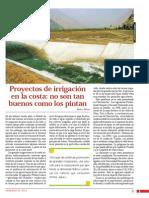 Proyectos de Irrigacion