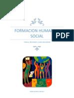 Formacion Humana y Social