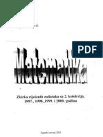 Zbirka Rijesenih Zadataka Sa Drugog Kolokvija Iz Matematike 1997-2000 Soric