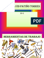 Juan David Patiño torres herramientas de trabajo