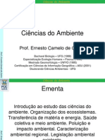 Ciencias Do Ambiente 01_Introducao
