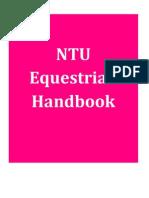 NTU Equestrian Handbook