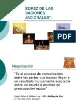 El Ajedrez de Las Negociaciones Internacionalesactual.